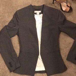 H&M Grey suit Blazer Jacket